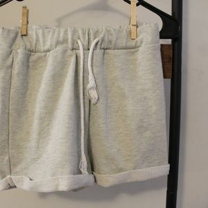 Pants - Gray Lounge Shorts